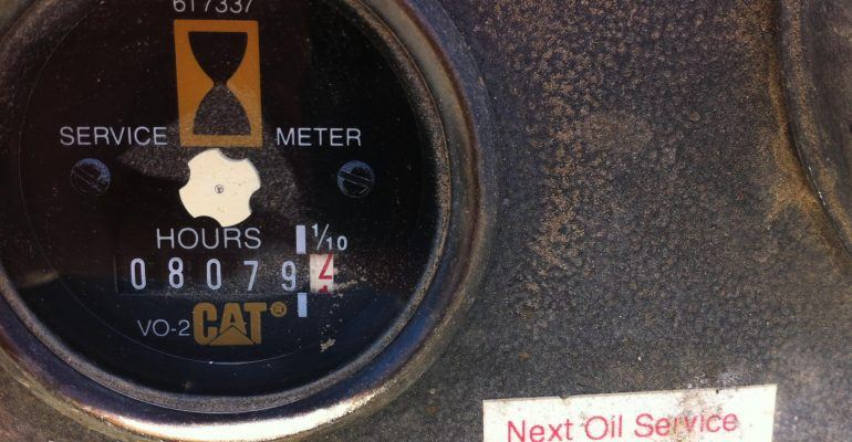 1995 Caterpillar 446B Turbo E-Stick Backhoe Plumbed For Sale