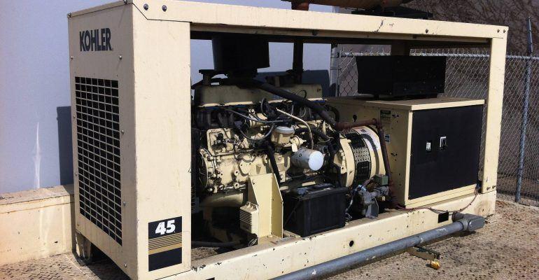 Used Kohler 45kw Propane Generator