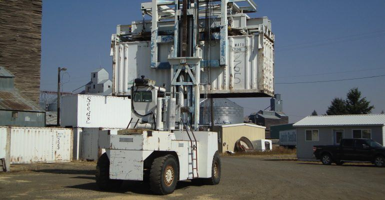 Used Silent Hoist FK35X 70,000Lb Forklift