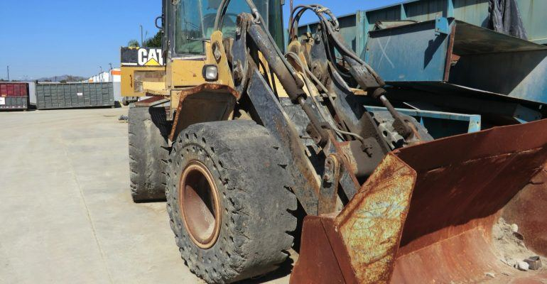 Used 1996 Caterpillar IT28F Wheel Loader w/Quick Coupler