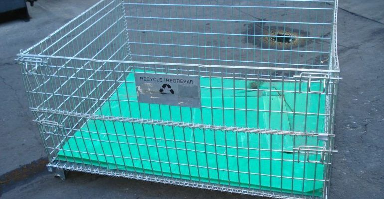 Used Wire Mesh Baskets 59x47x26