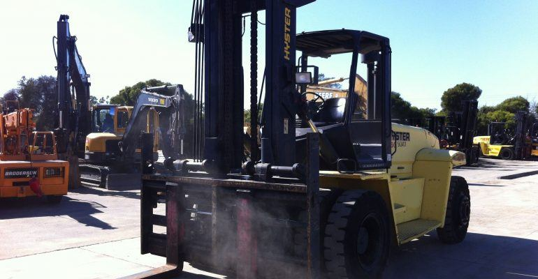 Used 2005 Hyster H360HD 36000Lb Forklift