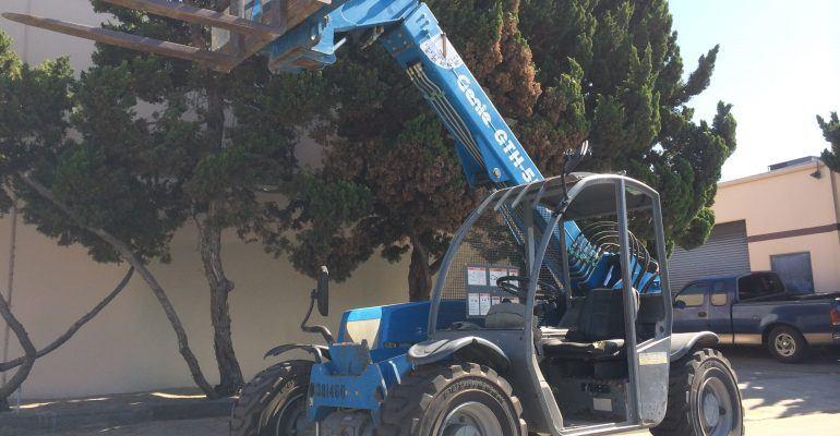 2006 Genie GTH-5519 Reach Forklift For Sale
