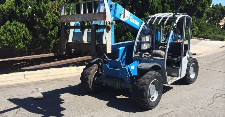 Genie GTH-5519 Reach Forklift – Telehandler