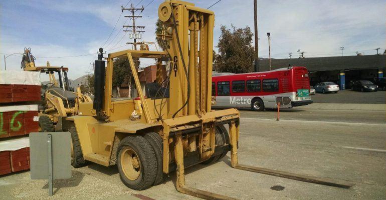 Caterpillar V180 Diesel Forklift
