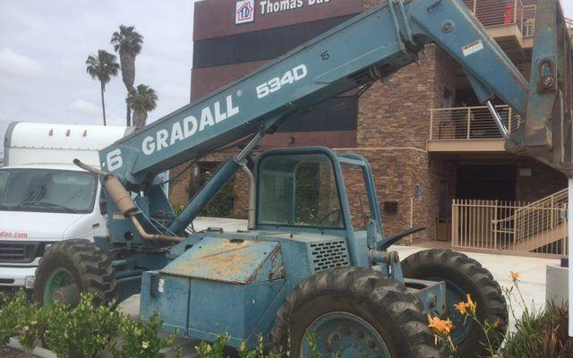 Gradall 534D-6 Reach Forklift