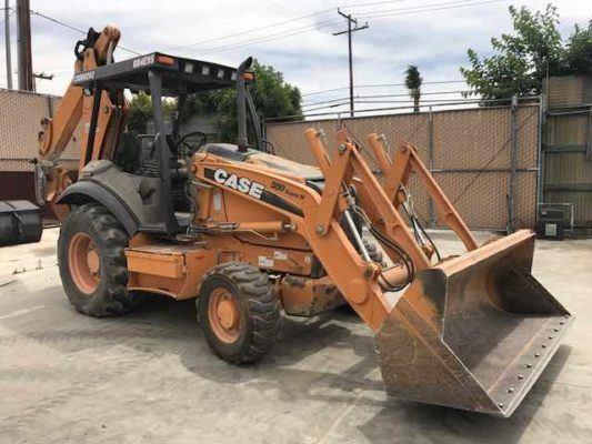 2011 Case 580 Super N Backhoe