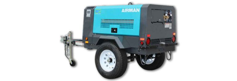 2019 MMD Airman PDS 100 Air Compressor Tier 4