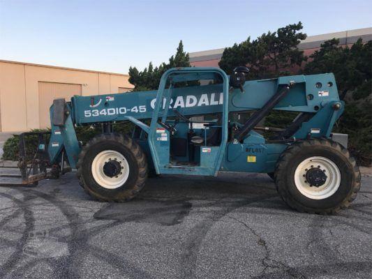 2004 Gradall 534D10-45 Reach Forklift