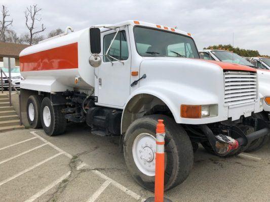 Navistar 4900 6×6 Water Truck