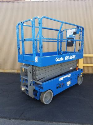 2012 Genie GS-2646 Electric Scissor Lift