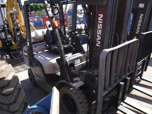 2012 Nissan PF50 Dual Fuel Forklift