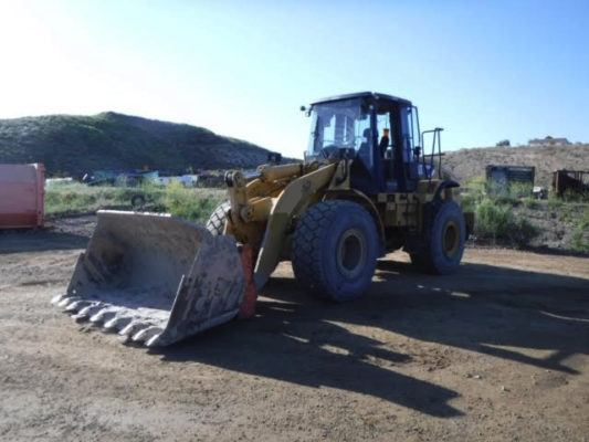 2007 Cat 950H Wheel Loader