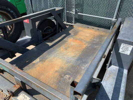 2010 JLG 449 Power Deck Equipment Trailer