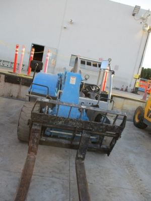 2014 Genie GTH-5519 Reach Forklift
