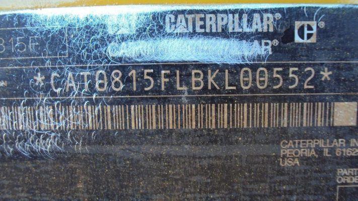 2004 Caterpillar 815F Compactor