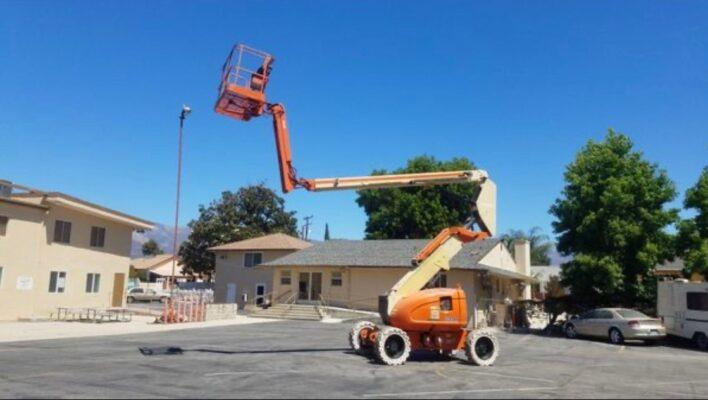 JLG 600AJ Boom Man Lift – REDUCED PRICE
